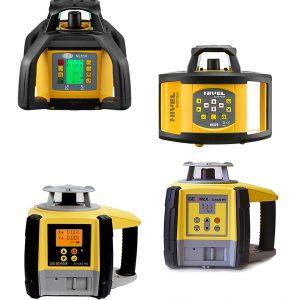 Niwelatory laserowe i zestawy